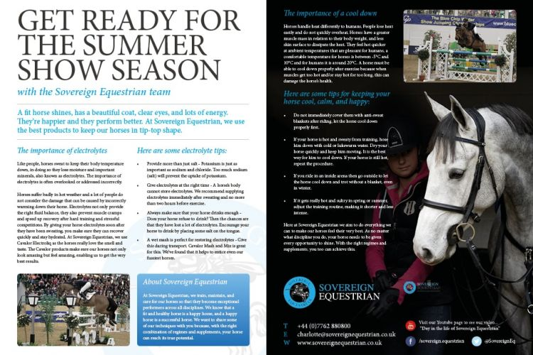 Get ready for the summer show season - Equestrian Life April 2017
